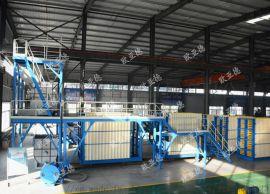 濟南工廠專業生產立式半自動複合牆板生產線