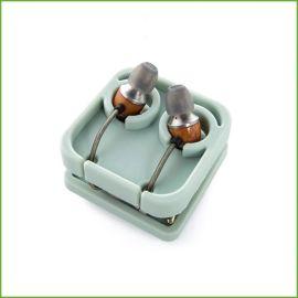 创意硅胶积木耳机绕线器 耳机线收纳盒 硅胶绕线器