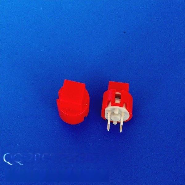 方形紅色/藍色按鈕開關 四腳復位帶燈輕觸開關 12*12mm高品質開關