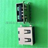 USB连接器厂家直销2.0AF沉板刺破移动电源专用