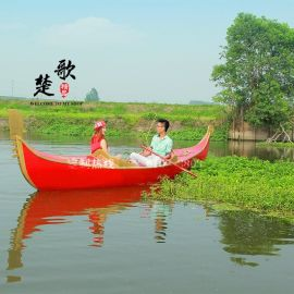 **威尼斯贡多拉游船山东福建木船厂家出售酒店装饰船婚纱摄影特殊道具船