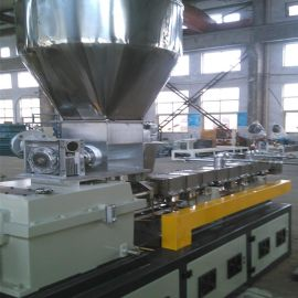 双螺杆共混改性造粒机    双螺杆造粒生产线厂家