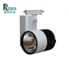 30W高亮度LED轨道射灯 30WLED**导轨射灯