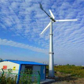 30千瓦风力发电机生产厂家电动变桨自动识别风向