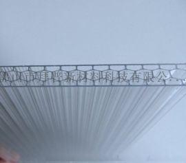 PC蜂窩陽光板廠家定制 保溫隔音