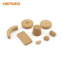 恒歌热销产品 导电导热 透气均匀烧结铜滤芯