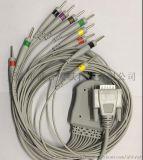 日本光電心電圖機導聯線