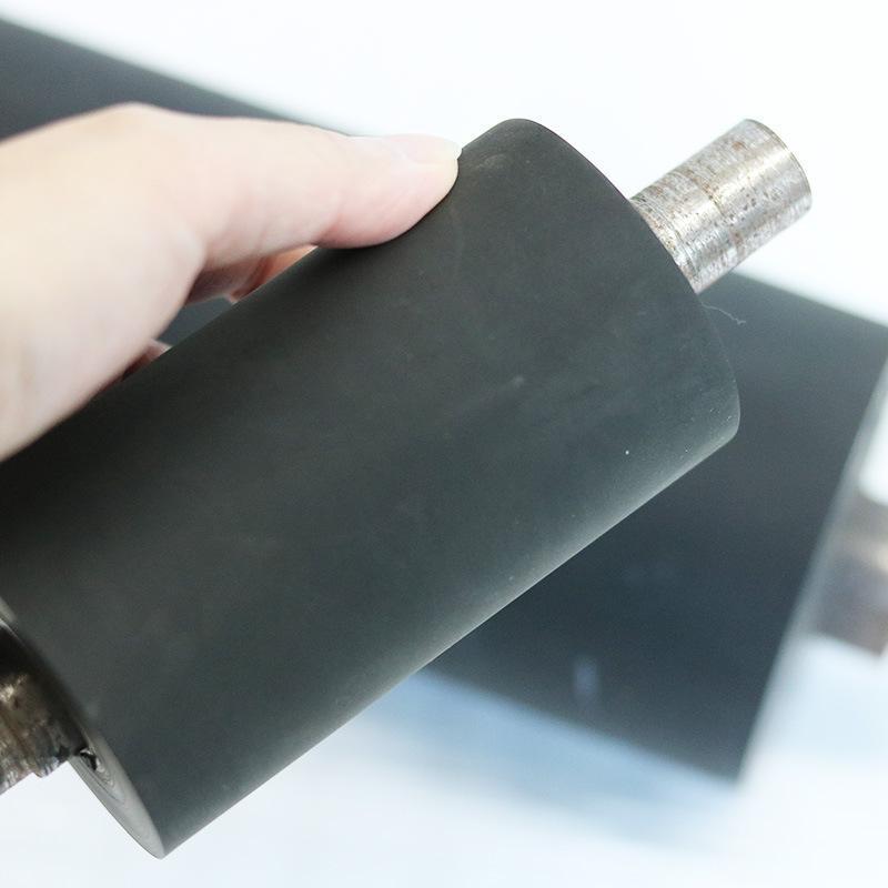 口罩机胶辊 聚氨酯滚轮胶辊定制包硅胶橡胶辊 包胶橡胶滚轮