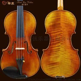 曹氏提琴 纯手工打造音乐学院专业级小提琴