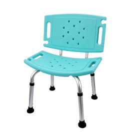 大靠背洗澡椅 绿色/白色 家用淋浴洗澡椅子加固加厚残疾人冰凉椅