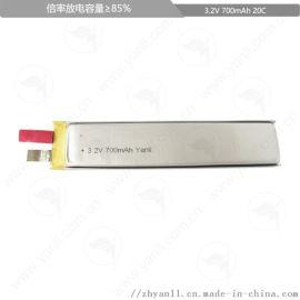 高倍率磷酸铁锂电芯602096 1200mAh