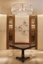 別墅躍層客廳水晶吊燈