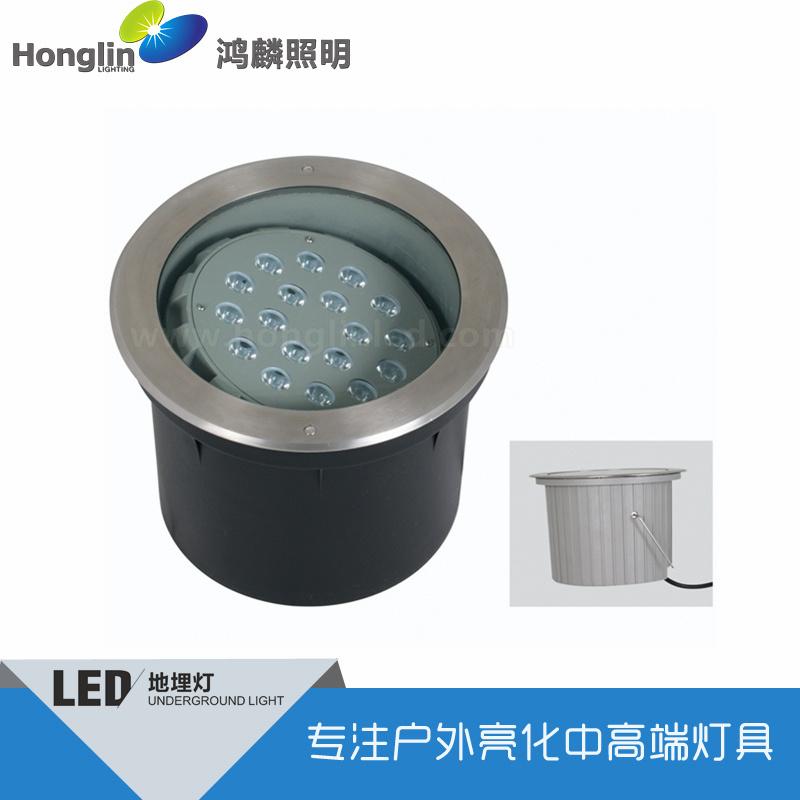 新款3x2W可调偏光LED地埋灯