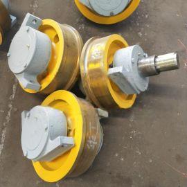 600*150双梁角箱轮 非标平车轮 铸造吊轮组