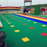 江北區氣墊懸浮地板籃球場塑膠地板拼裝地板