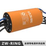 中为科技15KW三相电机大电流导电滑环
