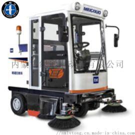 电动清扫车,驾驶式电动清扫车