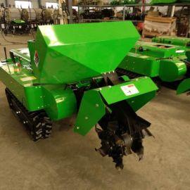 田园开沟施肥机,履带式多功能果园管理机