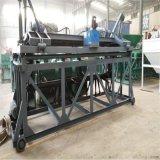 粪污发酵设备翻耙机 秸秆堆肥发酵翻堆机 秸秆好氧双螺旋翻抛机