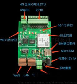 4G無線路由器 WIFI CPE定製 軟件開發