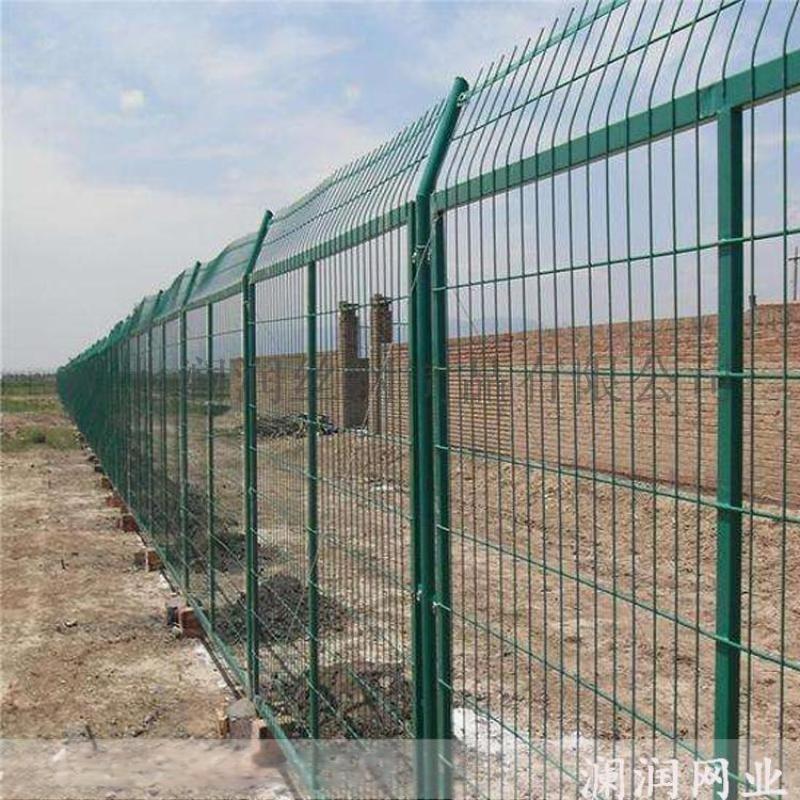 广州双边丝护栏网 高速铁路护栏 低碳钢丝护栏厂家