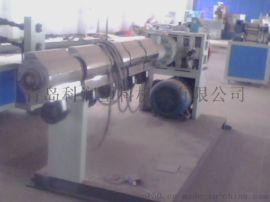 PVC PE 单壁波纹管生产线