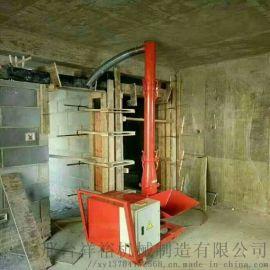 小型细石混凝土输送泵 室内螺旋浇注机
