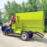 多功能电动撒料车,养殖饲料撒料车,自走式撒料车