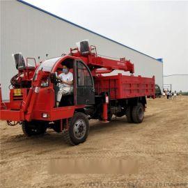定制多功能吊挖一体机 市政工程挖掘吊料运输车