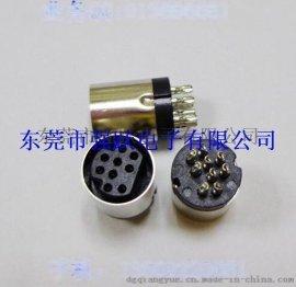 中4PIN粗针插头插座,S端子连接器,MINIDIN连接器