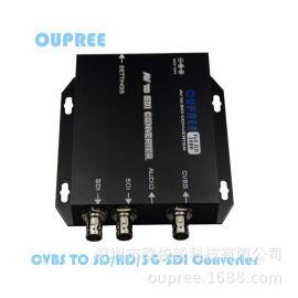 欧柏锐品牌ORP-SC501V新款HD/3G-SDI转**/BNC/CVBS广播转换器