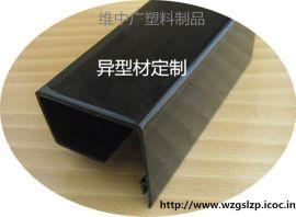 挤塑异型材定制,PVC方管,PETG包装管