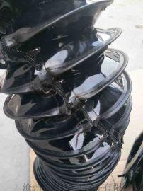 拉链式缝合油缸保护套 沧州嵘实油缸保护套