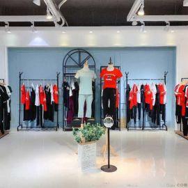 女装雪纺裙吉林省唯众良品库存尾货服装针织衫羊绒大衣女装