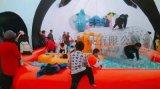 充氣城堡租賃廠家大型熊貓島樂園出租