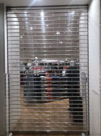 惠州博罗水晶卷帘门 遥控水晶卷闸门商家的广告门