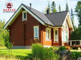 木屋別墅定製廠家,採用防腐木修建,支持來圖定製