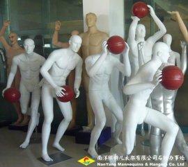 打篮球运动模特
