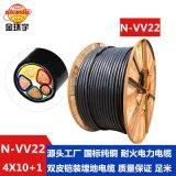 金环宇电缆规格N-VV22-4*10+1*6平方金环宇电线电缆