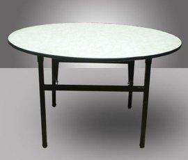 酒店宴会厅折叠金属餐桌(DL-9277)