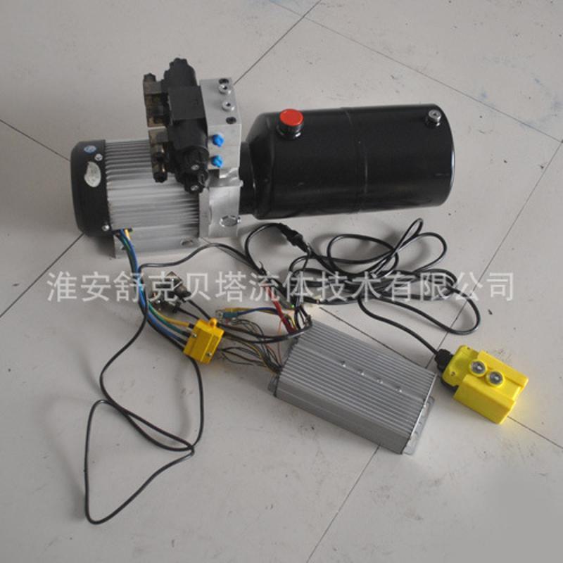 72V1KW-8L-2無刷電機液壓動力單元