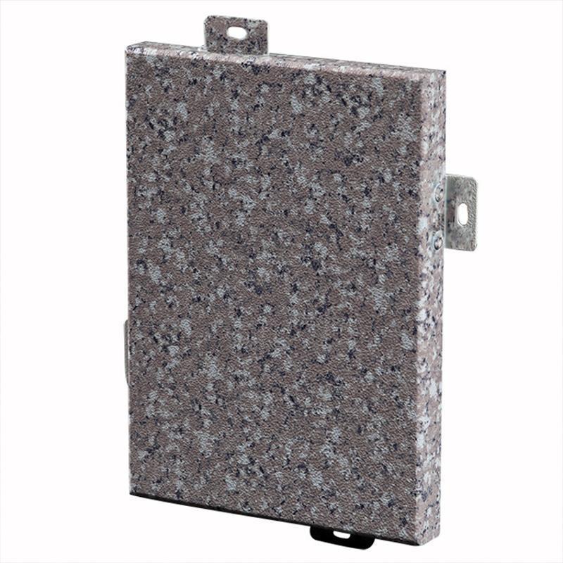 廠家供應環保鋁單板模擬大理石紋鋁單板材料厚度定製