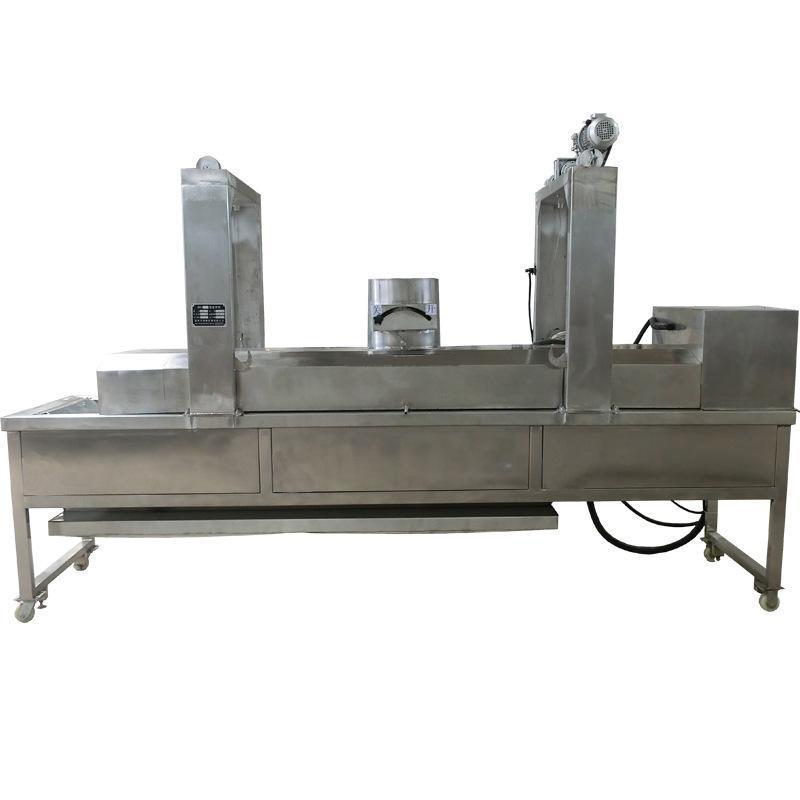 老醋花生米油炸生产流水线 商用全自动麻花油炸线 来样定制机器