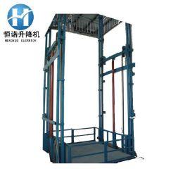 生产液压升降货梯固定剪叉升降机电动升降货梯