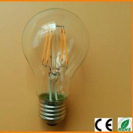 LED灯丝灯A60 4W 6W 8W LED钨丝灯 LED灯丝球泡灯 CE灯丝球泡