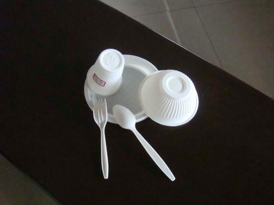 一次性玉米澱粉環保食具