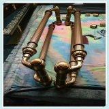 不锈钢空心拉手厂家定制加工大门玻璃门通用不锈钢空心拉手批发