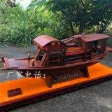 嘉兴南湖红船模型实木摆件厂家直销
