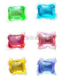 洗衣粉块水溶膜包装设备 贝尔    包装生产线