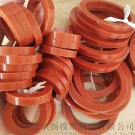 河北耐高温硅胶垫厂家 圆形硅胶密封垫 硅胶垫定制
